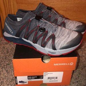 NIB Merrill Men's size 8 Bare Access Flex Shoes